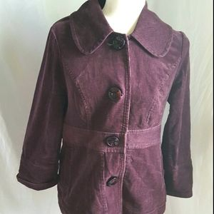 Ambition purple corduroy jacket L